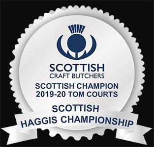 Scottish haggis champion 2019-20 tom courts